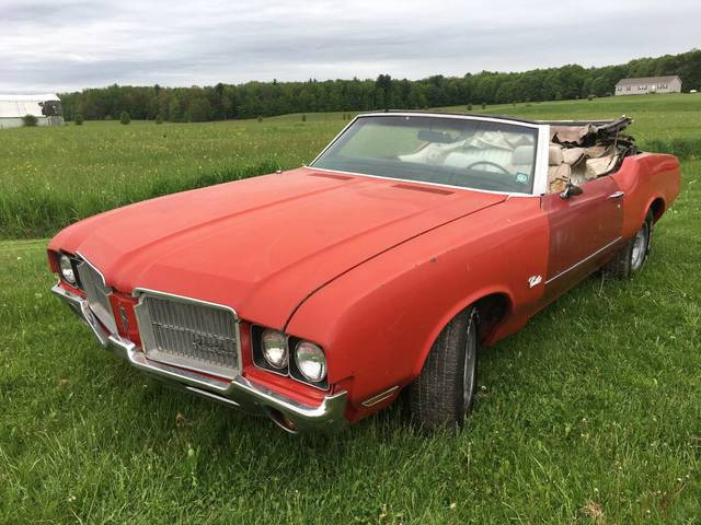 1972 Oldsmobile Cutlass Convertible Project