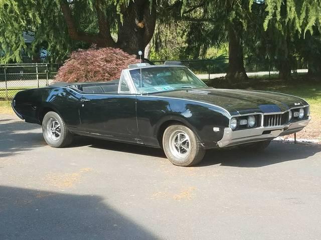 1968 Olds Cutlass Convertible