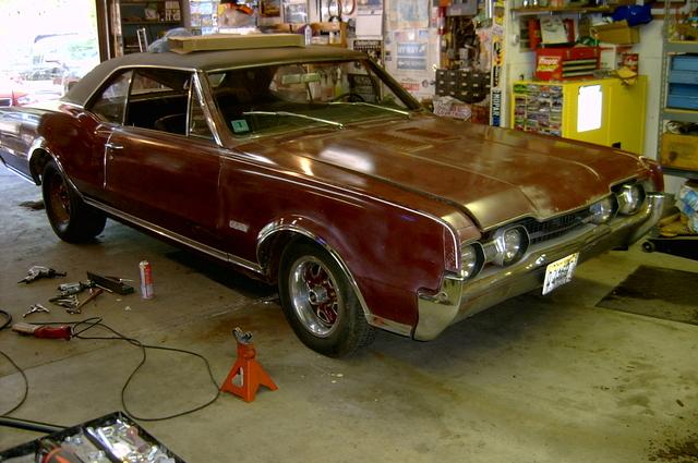 67 442 project car
