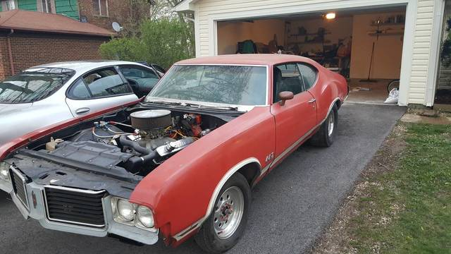 1972 Oldsmobile Cutlass 442 Clone