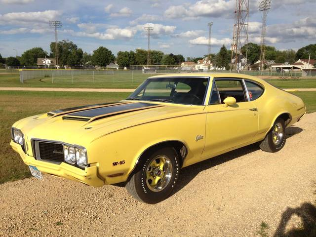1970 Oldsmobile Cutlass F-85 Rallye 350