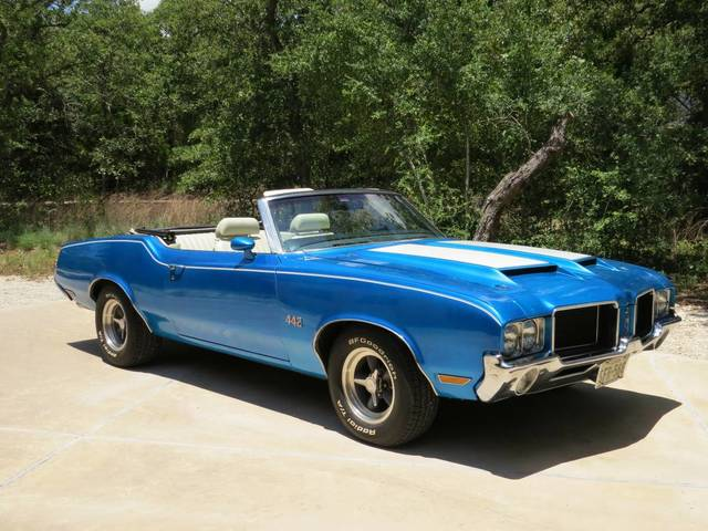 1971 Cutlass (442 clone) convertible