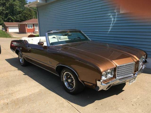 1972 Olds Cutlass Supreme Covertable