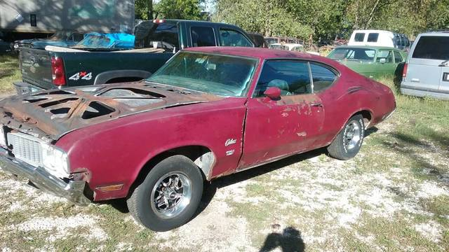 1970 Cutlass W31 4 Speed project