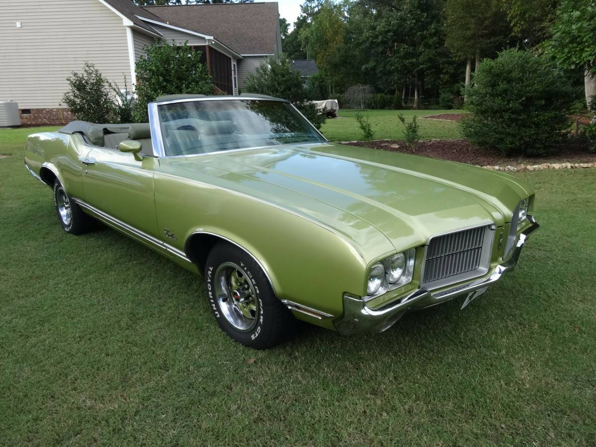 1971 olds cutlass supreme convertible clayton nc. Black Bedroom Furniture Sets. Home Design Ideas