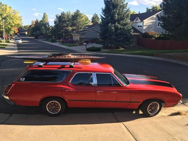 Sweet 72 Cutlass Supreme Wagon