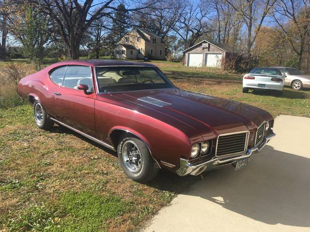 1972 Oldsmobile Cutlass S