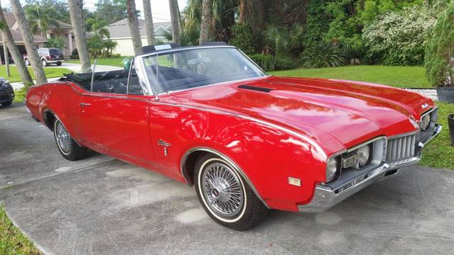 1968 Cutlass Convertible