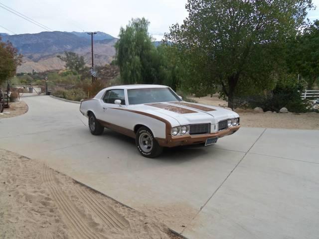 1970 Olds Cutlass Supreme Hurst Tribute
