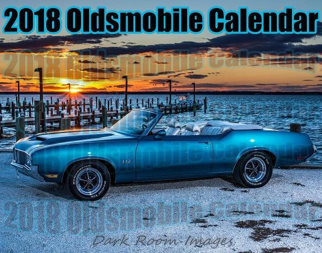 2018 All Oldsmobile Car Calendar IN STOCK READY TO SHIP!