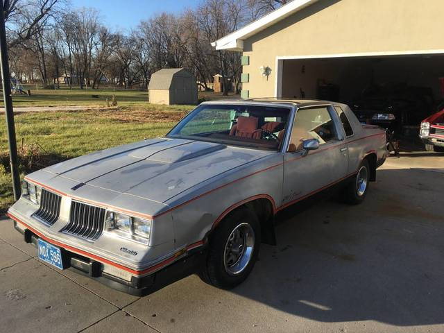 Grandpas 1984 Hurst Olds 442