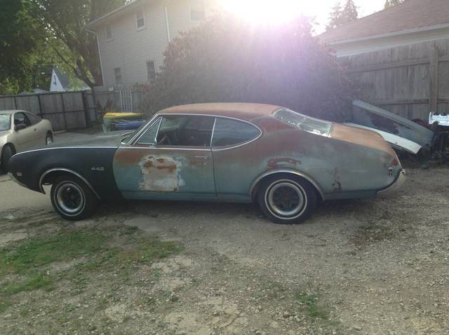 1968 Oldsmobile 442 4 Speed project