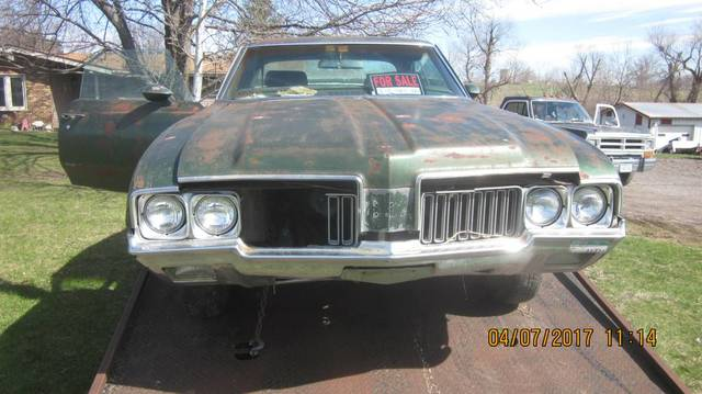 1970 Oldsmobile 442 project