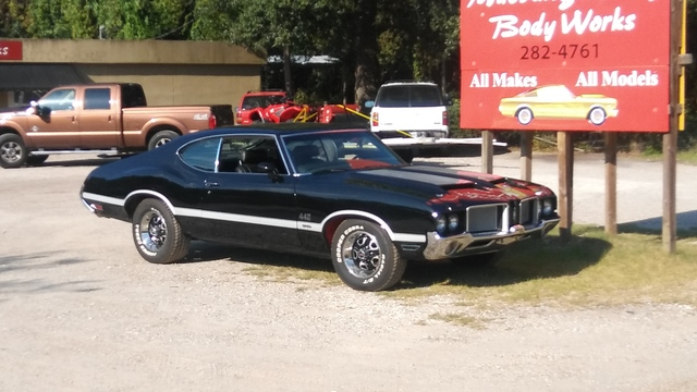 1972 Oldsmobile W30 Tribute