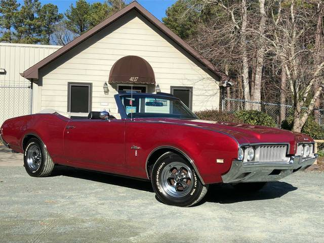 1969 Oldsmobile Cutlass S Convertible