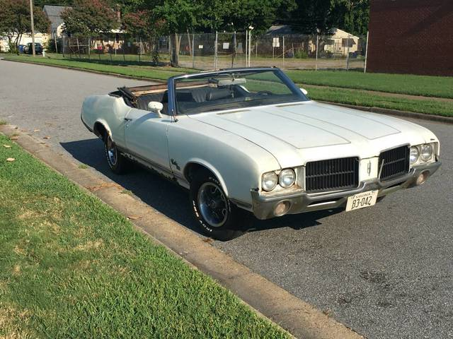 1971 Cutlass SX 455 Convertible