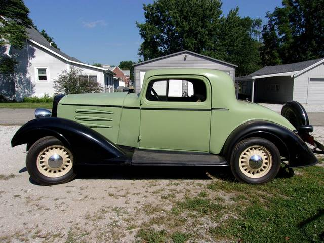 1933 Oldsmobile Rumble Seat Coupe