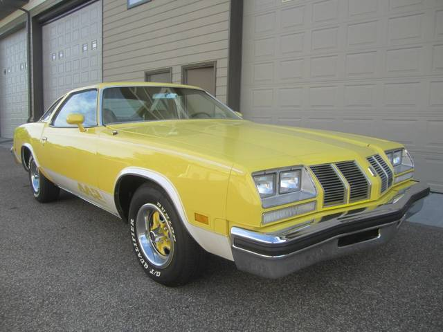1977 Oldsmobile Olds Cutlass 442 Coupe