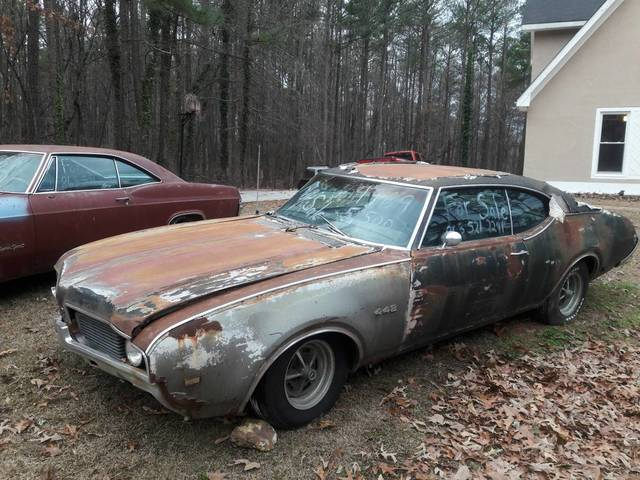 1969 Oldsmobile 442 Project