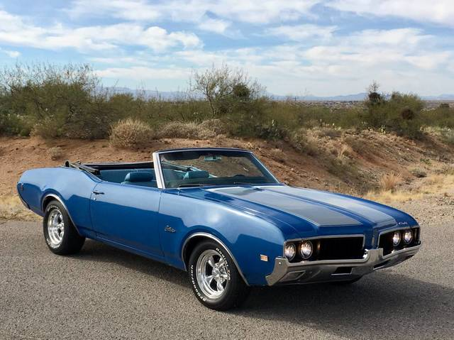 1969 Cutlass Convertible