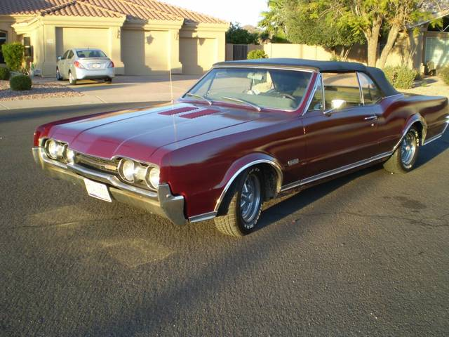 1966 Olds Cutlass 442 convertible