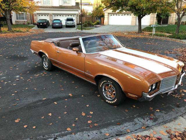 1972 Cutlass Supreme Convertible