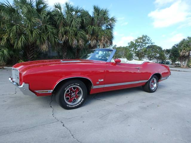 1971 Oldsmobile Cutlass SX 455 Convertible