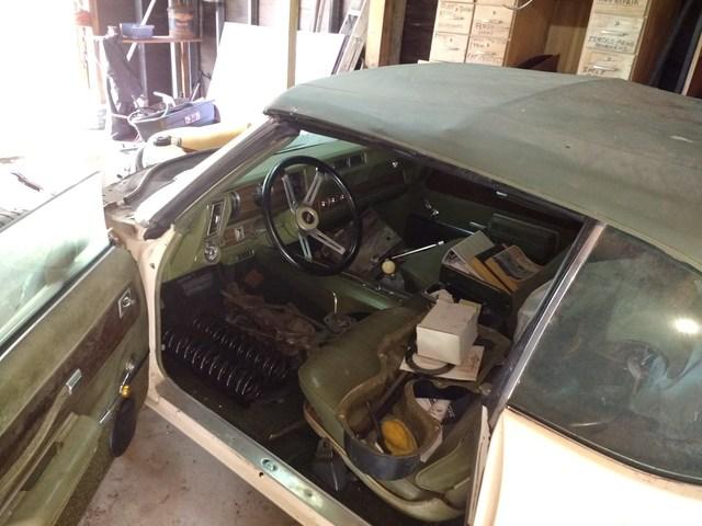 1971 Cutlass Convertible Roller