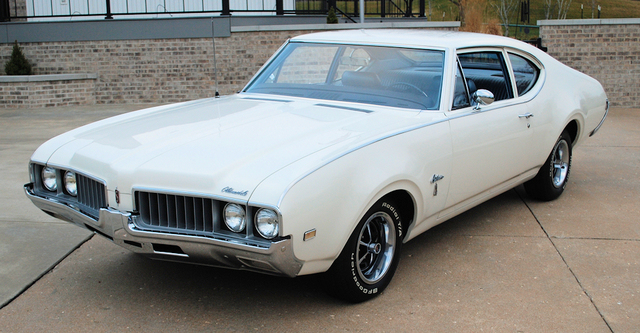 1969 Cutlass S post 12,000 miles