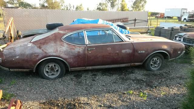 1968 442 Cutlass Project