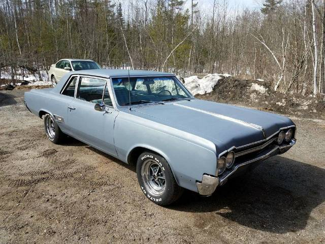 1965 Olds 442 Post Car