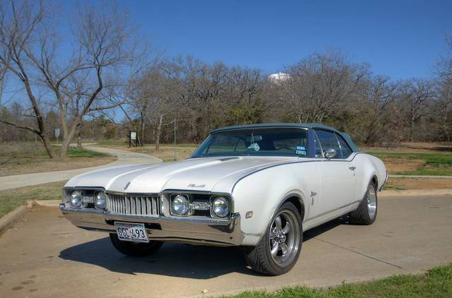 1968 Cutlass S Convertible