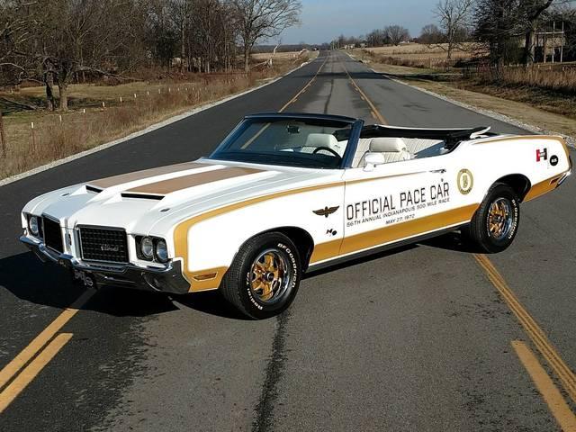 1972 Oldsmobile Cutlass convertible Indianapolis P