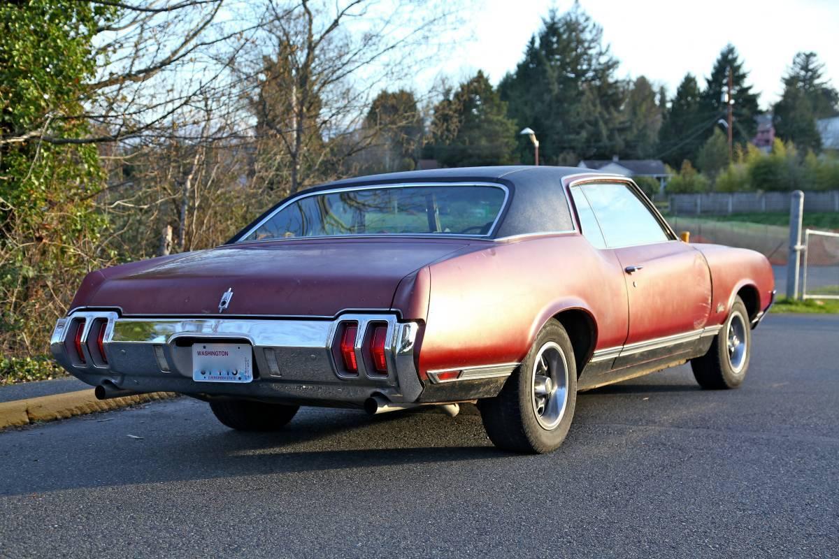 1970 Cutlass Supreme Project Seattle Wa Oldsmobilecentral Com