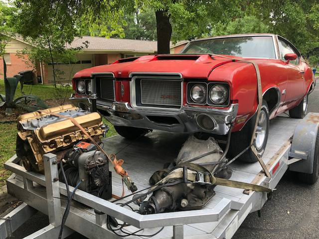 1972 Oldsmobile 442 Project