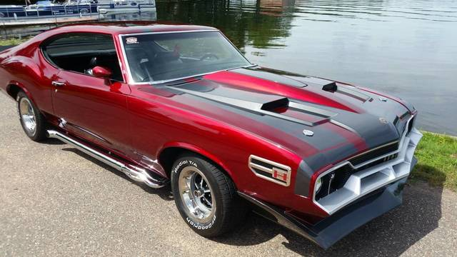 1972 Oldsmobile Show Car-Built