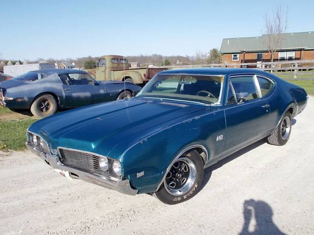 1969 Oldsmobile 442 4 Speed Project