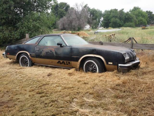 1977 Oldsmobile 442 Project