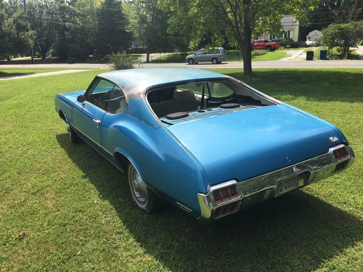 72 Oldsmobile Cutlass Sports S Coupe Durham Nc