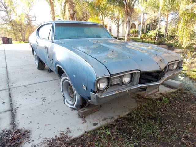 1968 Olds 442 W30 Project Car