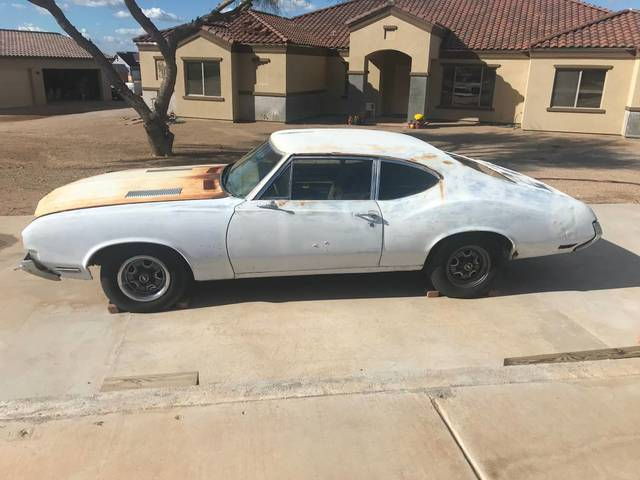 1970 Cutlass 2 Door Post Project