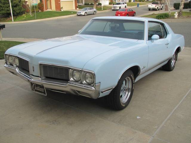 1970 Cutlass Oldsmobile Supreme