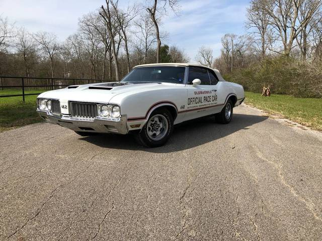 1970 Olds 442 Pace Car Convertible