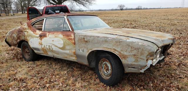 1970 442 post Oldsmobile Project