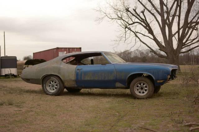 1970 Olds Cutlass Project