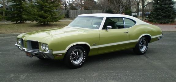 1971 Olds 442 hardtop