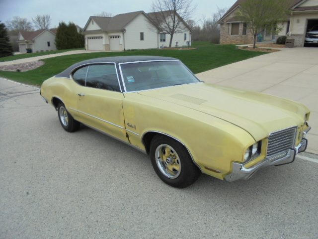 1972 OLDS cutlass U code 455