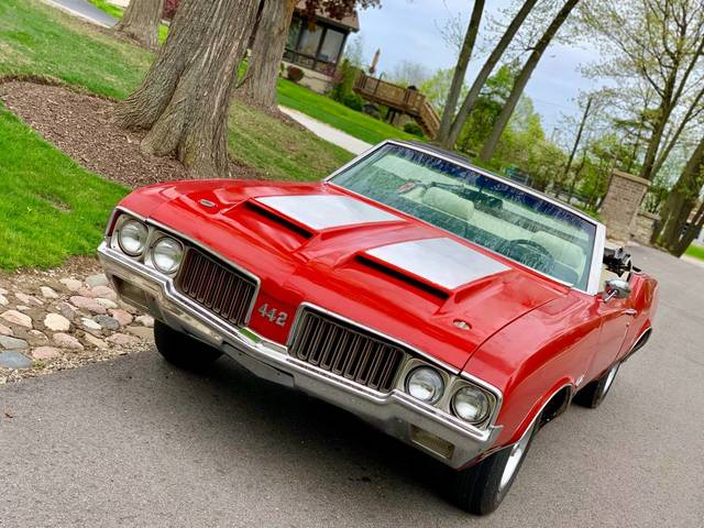 1970 Oldsmobile 442 4 Speed Convertible