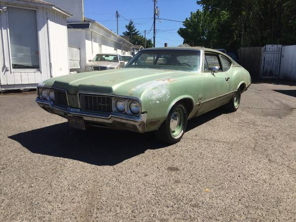 1970 Oldsmobile Sports Coupe Project