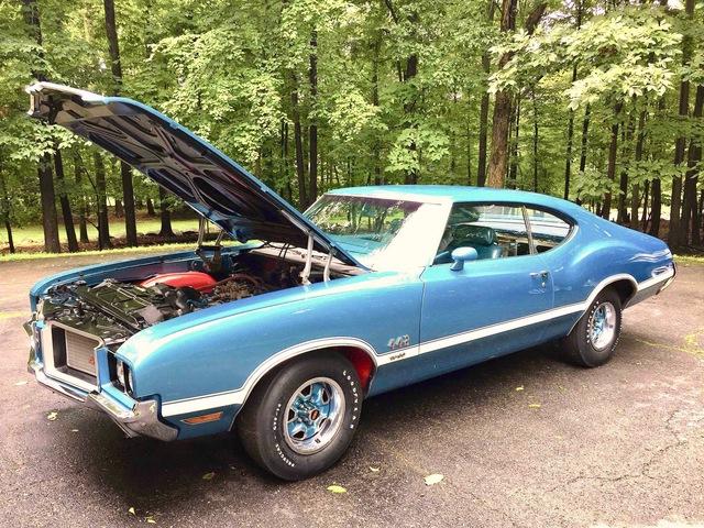 1972  442  W30  4 SPEED